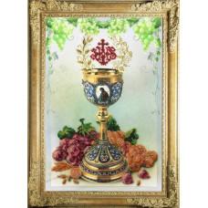 Набор для вышивания бисером Краса і творчість Пасхальная чаша 2 (20212)