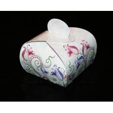 Коробочка-шкатулочка Цветочный орнамент