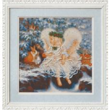 Ангелочек зимой (Б-556)