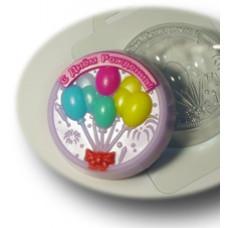 Форма для мыла С Днем Рождения