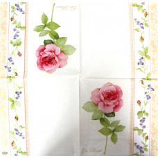 Салфетка Ранняя роза (1334)