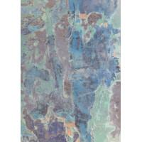 Бумага Абстракция в голубых тонах (Ш375) (261)