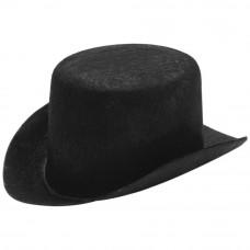 Шляпа фетровая, черная, 14 см. (12751)