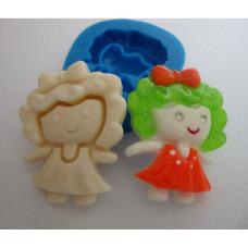 Молд силиконовый Маленькая кукла (144)