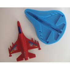 Молд силиконовый Самолёт истребитель (181)