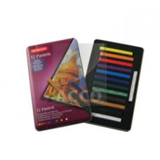 Набор цветной пастели Pastels, 12 цветов (D-36003)