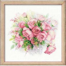 Акварельные розы (1335)*