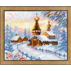 Деревенский пейзаж. Зима (1326)