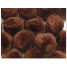 Помпоны коричневые (ADB1882-VP.19)