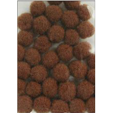 Помпоны коричневые (ADB1860-VP.19)