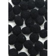 Помпоны черные (ADB1860-VP.2)