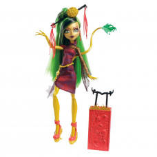 Кукла Monster High Scaris Deluxe Travel Dolls - Путешественницы - Джинафаэ Лонг (MTY0376B)