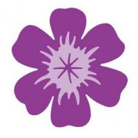 Дырокол фигурный рельефный Цветок, 6 см.(DL-LCP32L-417)
