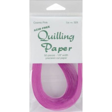 Бумага для квиллинга Cosmic Pink (1/8) 50 шт. (Q300 329)