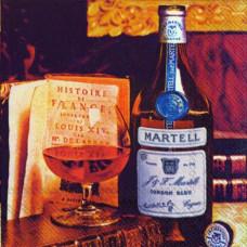 Салфетка MARTELL (маленькая) (1352)