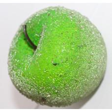 Декор Яблоко зеленое в присыпке
