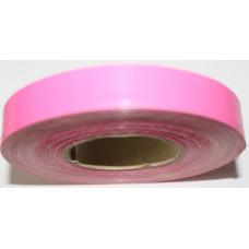 Декоративная лента President розовая, Однотонная