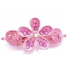 Заколка Розовый цветок