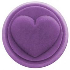 Мини-форма для воскового ароматизатора Сердце - 1 шт (WX-HEART1562)