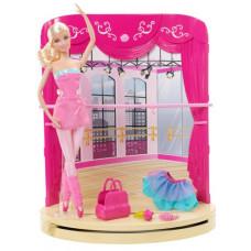 Набор Тренировка - Барби в розовых туфельках (MTY8517)