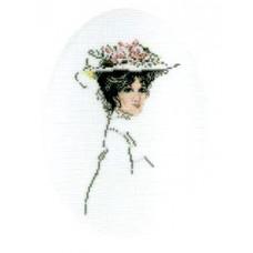 Дама в шляпе (R290)