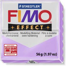 Полимерная глина FIMO Effect pastel lilac (пастель сиреневая)(8020-605)