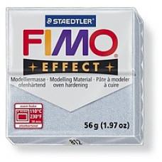 Полимерная глина Fimo Effect Polymer Clay, Metallic Silver (8020-812)