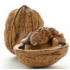 Пудра из скорлупы грецкого ореха