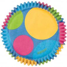 Бумажные формы для кексов-мини, Retro Dots (W4151879)