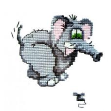 Испуганный слоник (214)