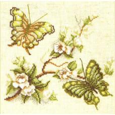 Бабочки в зелёных тонах (191)