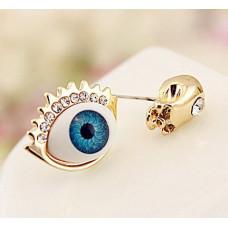 Серьги-гвоздики Всевидящее око