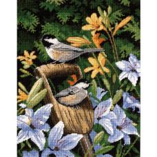 Птички и лилии (20068)
