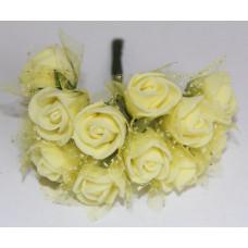 Розы желтые в декоре (Б-04)