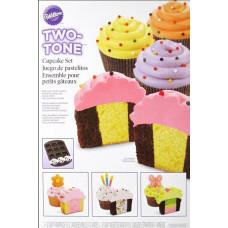 Форма для выпечки Bakeware Pan Cupcake Set Two Tone (W57783)