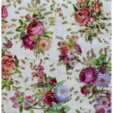 Салфетка Букетики летних роз (1382)