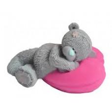 Форма для мыла Мишка на сердце (В115)