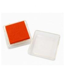 Штемпельная подушка c чернилом, оранжевая (4888451)