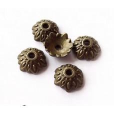 Обниматель Лепестки античная бронза, 10 шт. (987639)
