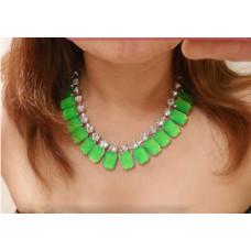 Ожерелье Летняя зелень