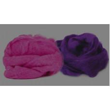 Набор шерсти кардочес Фиолетовые оттенки №1 (962499)