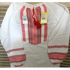 Вышитая сорочка для девочки, разм.40