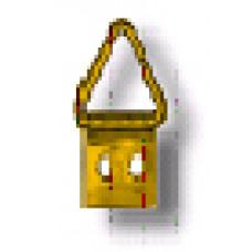 Подвеска для рам малая треугольная №0 микро (ПД-041)
