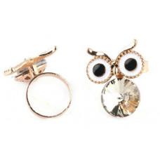 Кольцо Бриллиантовая сова