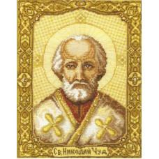 Набор для вышивания крестиком Чарівна мить Святой Николай Чудотворец (253)