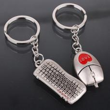 Брелки для двоих Клавиатура и мышка