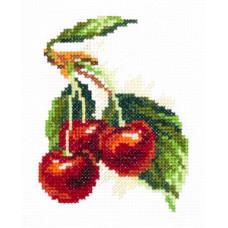 Набор для вышивания крестиком Чудесная игла Вишня (31-01)