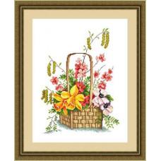 Набор для вышивания крестиком Сделано с любовью Весна красна (ЦВ-060)