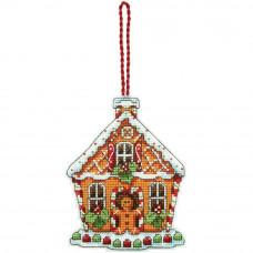 Игрушка на елку Пряничный домик (70-08917)**