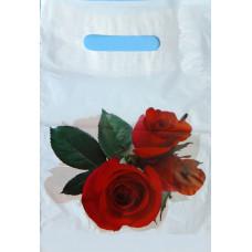 Пакет подарочный Розы